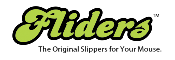 Fliders, The Original Slippers for Your Mouse.